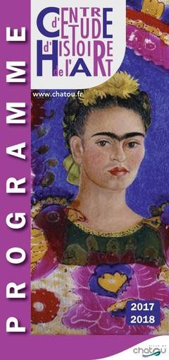 couverture du programe du CEHA illustré du tableau The Frame de Frida Kahlo